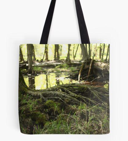 White River Marsh Landscape 6799 Tote Bag