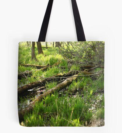 White River Landscape 6810 Tote Bag