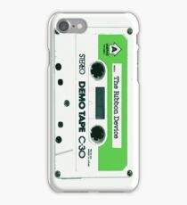 The Ribbon Device Demo Cassette (comic) iPhone Case/Skin