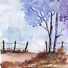 Seasonal Winter blues by Maree Clarkson