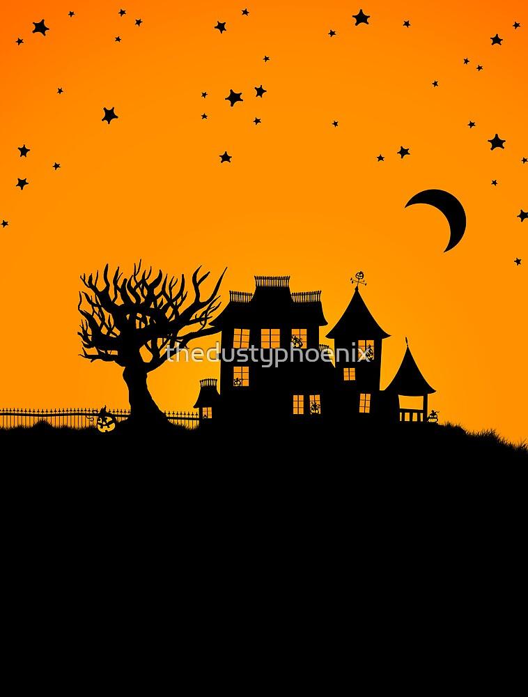 Halloween House by thedustyphoenix