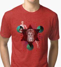 Geometric Gods Tri-blend T-Shirt