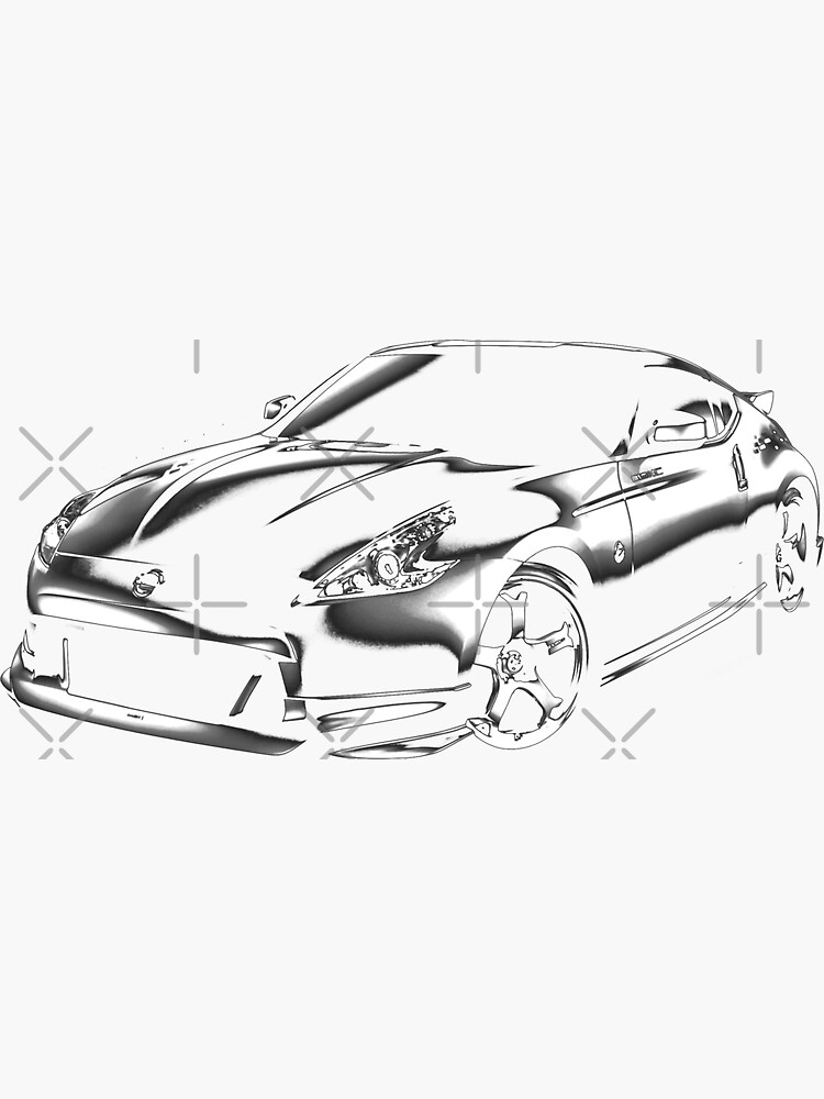 Nissan 370z Nismo Sticker By Hottehue