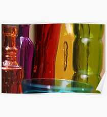 Light Through Colored Glass Poster