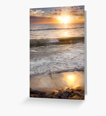 Sunset - Granny's Beach - Dongara - WA  Greeting Card