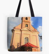 Felbári templom Tote Bag