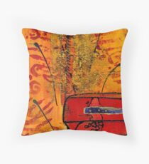 Her Vase Throw Pillow