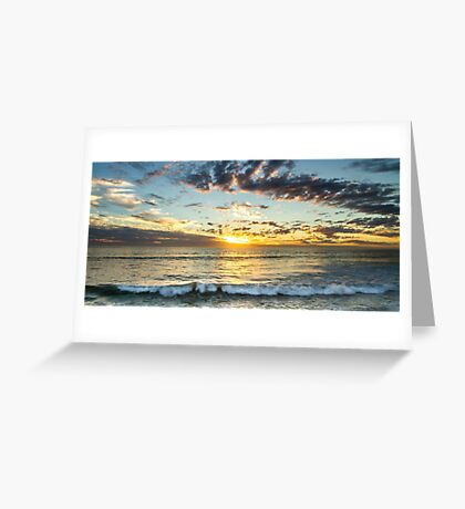 Granny's Beach - Sunset - Dongara - WA  Greeting Card