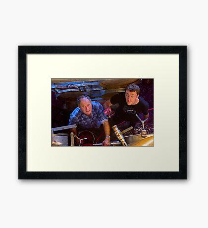 """The Vigneron and The Vintner"" Framed Print"
