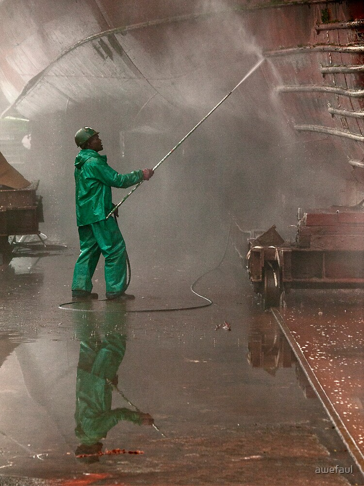 All's wet at the dry-dock by awefaul