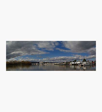 Seaport Harbour, Launceston, Tasmania Photographic Print