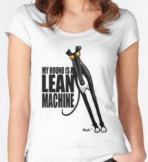 Camiseta entallada de cuello redondo Máquina Lean