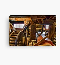 Inside the Mill Canvas Print