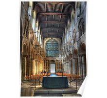 Rochester Cathedral interior   (2) Poster