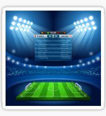 Football Stadium Background Sticker