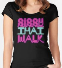Sissy That Walk [Rupaul's Drag Race] Women's Fitted Scoop T-Shirt