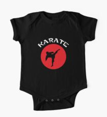 Body de manga corta Karate Rising Sun