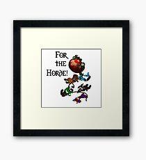 Horde Balloon Framed Print