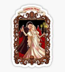 Beware of Crimsom Peak Sticker