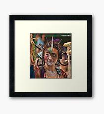 Many Faces Of The Coney Island Mermaid Parade -2 Framed Print