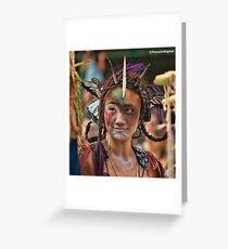 Many Faces Of The Coney Island Mermaid Parade -2 Greeting Card