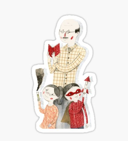 Family Portrait IV Sticker
