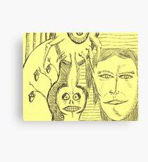 crab nutz Canvas Print