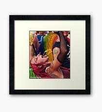 Many Faces Of The Coney Island Mermaid Parade -5 Framed Print