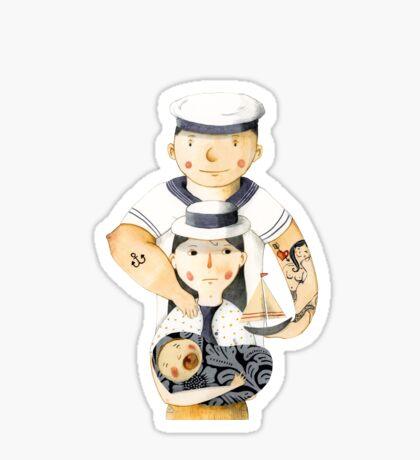 Family Portrait I Sticker