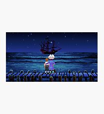 Guybrush & Stan (Monkey Island) Photographic Print