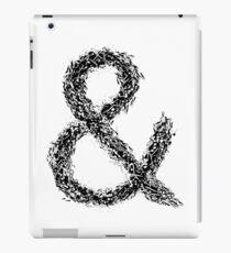 Ampersand iPad Case/Skin