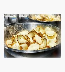 Fresh Potato Chips Photographic Print