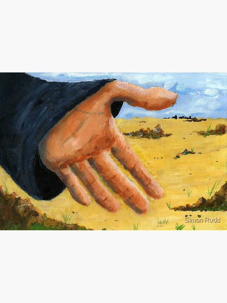 Hand in field by simonrudd