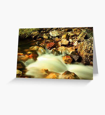 Flowing Greeting Card