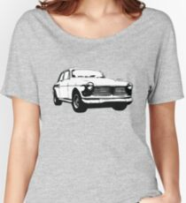 Classic Volvo Amazon illustration Women's Relaxed Fit T-Shirt