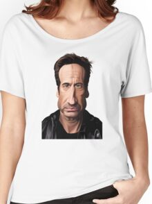 Celebrity Sunday - David Duchovny Women's Relaxed Fit T-Shirt