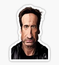 Celebrity Sunday - David Duchovny Sticker