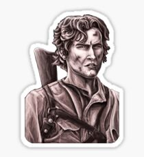 Bruce Campbell - Army of Darkness Sticker