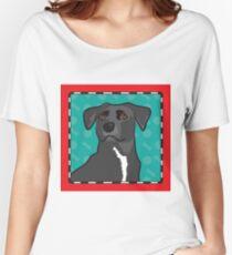 Mixed Breed Cartoon Women's Relaxed Fit T-Shirt