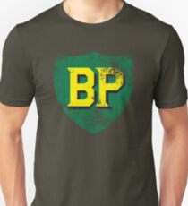 Vintage British Petroleum emblem Unisex T-Shirt
