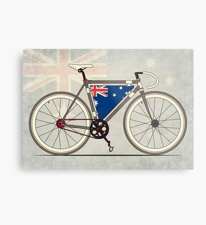 I love My Bike and Australia Metal Print