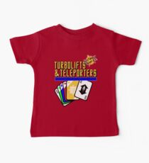 Turbolifts and Teleporters Baby Tee
