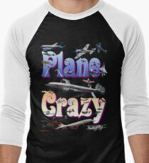 Plane Crazy T-shirt - for those obsessed with aircraft T-Shirt