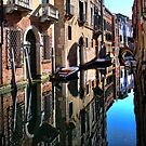 Reflections of Venice by John Lines