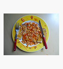 Big Breakfast by Luciano Pelosi Photographic Print