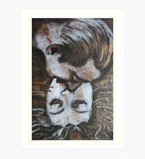 Lovers - Kiss7 - Vintage Art Print