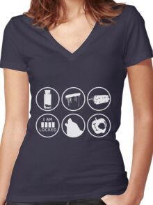 I need a case! Women's Fitted V-Neck T-Shirt