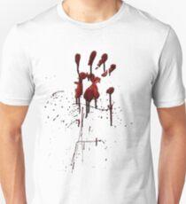 Zombie Attack Bloodprint - Halloween Unisex T-Shirt