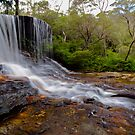 The Weeping Rock. by Julie  White