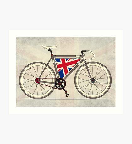 Love Bike, Love Britain Art Print